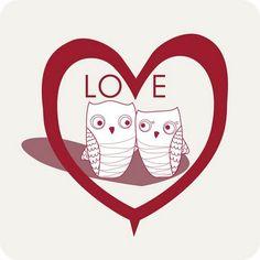 ♥ Amor y Corazones ♥  owl love you