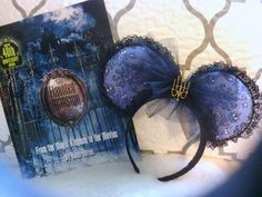 Haunted Mansion ears by LisasMouseEars on Etsy
