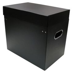 "Black Tabletop File Storage $13 at Target 12.2""x9.06""x13.58"""