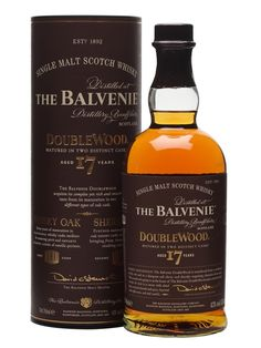 Balvenie 17 Year Old / DoubleWood Scotch Whisky : The Whisky Exchange
