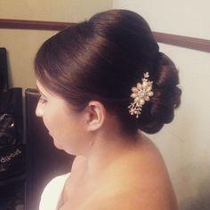 Beautiful bridesmaid hair #wedding #hair #hairup #bridal #bridalhair #londonweddings #surreyweddings #kentweddings