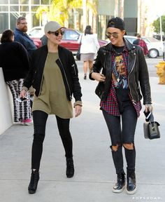 Pin for Later: Newly Single Ruby Rose Steps Out For a Day Date With Halsey