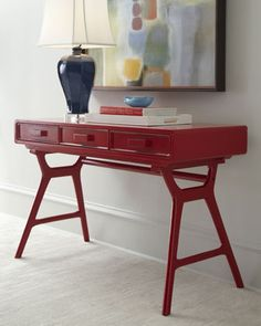 """""""Phillip"""" Console by Arteriors at Horchow."""