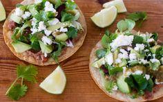 Grønne tostadas