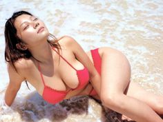 Busty Asian Girl in Bikini This beauty seems to enjoy the sun and waves in the shallow water. And we can enjoy her nice body and hot bikini ; Bikini Babes, Red Bikini, Bikini Girls, Asian Woman, Asian Girl, Joe Cool, Mädchen In Bikinis, Up Girl, Japanese Girl