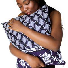 African Khanga Fabric Cushion by thesleepygiraffe on Etsy, $40.00
