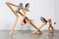 18x de meest opvallende en creatieve boekenkasten voor in huis - Roomed