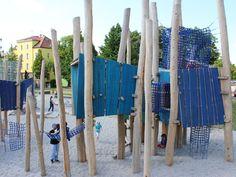 Heilbronn, Silcherplatz 2012 öffentlicher Spielplatz