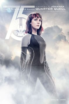 Catch Your Breath: The New 'Hunger Games: Catching Fire' Posters Are Here!: Jena Malone as Johanna Mason