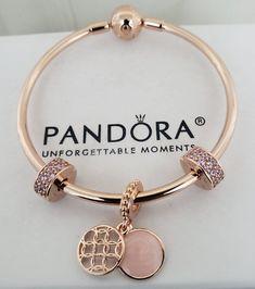 Pandora Charms Rose Gold, Pandora Bracelet Charms, Pandora Jewelry, Cartier Bracelet, Stylish Jewelry, Cute Jewelry, Luxury Jewelry, Fashion Jewelry, Hand Jewelry