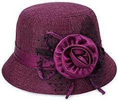 Amazon.co.uk: Purple - Hats & Caps / Accessories: Clothing Mens Sun Hats, Sun Hats For Women, Hats For Men, Camo Bucket Hat, Mens Bucket Hats, Purple Accessories, Safari Hat, Bowler Hat, Summer Hats