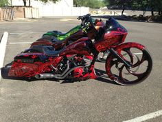 fat harley baggers - Google Search