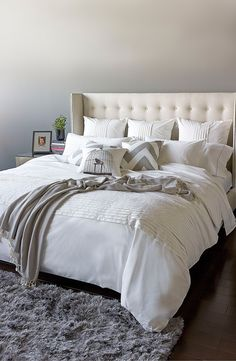 Rest and relaxation come easy thanks to this luxurious organic cotton duvet cover, ZzZzZz goodnight.