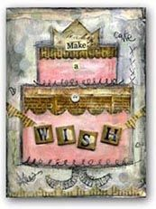 Shop for mixed media collage and artful home decor plus beautiful fine stationery!