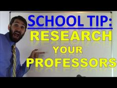 Picking & Researching Professors in College | How to Find Good Teachers