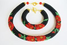 Hey, I found this really awesome Etsy listing at https://www.etsy.com/uk/listing/279552146/bead-crochet-necklace-bracelet-jewelry