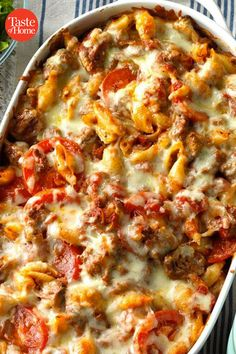 25 Christmas Casserole Recipes to Make in Your Pan Fresh from the oven, these crowd-sized casseroles are jolly, heartwarming and ready to share. Break out the best special casserole recipes for Christmas Eve, appetizer parties, and even Christmas morning. Pasta Casserole, Easy Casserole Recipes, Casserole Dishes, Bean Casserole, Chicken Casserole, Italian Casserole, Cowboy Casserole, Casserole Ideas, Sausage Casserole