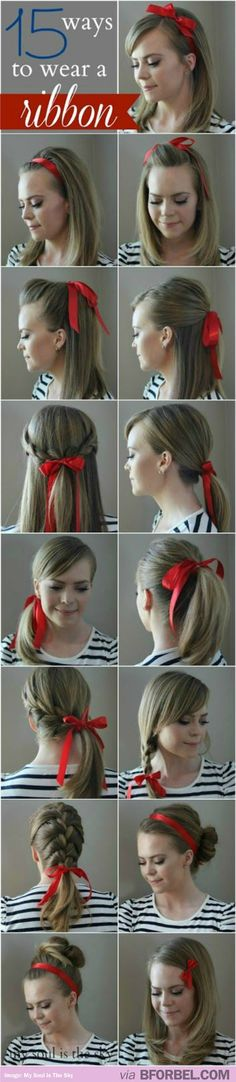15 Ways To Wear A Ribbon Besides Looking Like Alice…