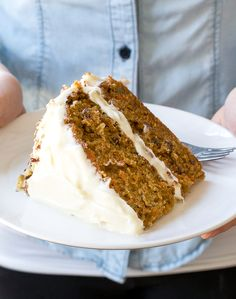 Amazing Layered Carrot Cake with Cream Cheese Frosting. Super moist, soft with the perfect amount of spice! What says Easter more than Carrot Cake?This Carrot Cake is super moist, soft with just the right amount of spice. It's the perfect way to celebrate the start of Spring! Carrot Cake is one of my favorite desserts …