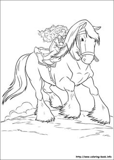 Brave Coloring Page 55