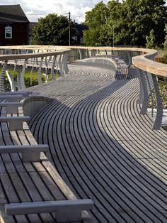 Castleford Riverside Masterplan by McDowell + Benedetti, United Kingdom