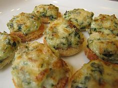 Little Spinach Pinwheels  Recipe  Finger foods Food ideas and