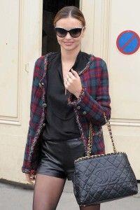 Miranda Kerr outfit - Paris fashion week