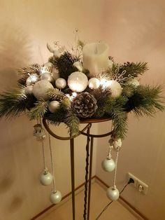 The post appeared first on Rustikal ideen. The post appeared first on Rustikal ideen. Diy Christmas Decorations, Family Christmas Ornaments, Christmas Candles, Christmas Centerpieces, Xmas Crafts, Rustic Christmas, Christmas Projects, Holiday Decor, Holiday Ideas