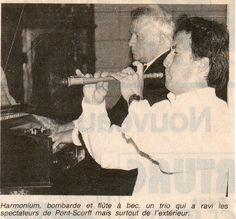 Duo Carrer - Guillou - Photo Ouest-France 27.8.1996 - Pont Scorff - Concert à l'église pour restaurer un harmonium  - Article : http://www.letelegramme.fr/ar/viewarticle1024.php?aaaammjj=19960823&article=19960823-1053017