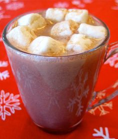 Wee One's Hot Chocolate - The Best Healthy Hot Drink Recipes - Shape Magazine - Page 7 agave replaces sugar