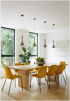 Yellow Dining Chairs, Dining Room Chairs, Dining Rooms, Dining Tables, Dining Area, Lounge Chairs, Round Dining, Beach Chairs, Office Chairs