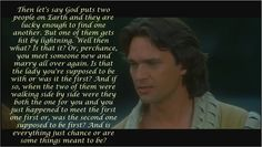 I love this quote in the film! The way he says it and the confusion about how life and love is supposed to work!! Haha! #EverAfter #LoveThisFilmSoMuch