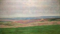 Podkowinski. Landscape at Sobotka. National Museum in Warsaw