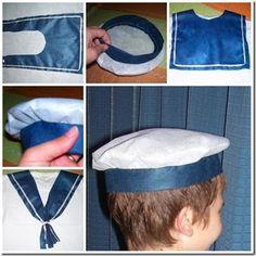 Disfraz casero de marinero para niño | Trato o truco