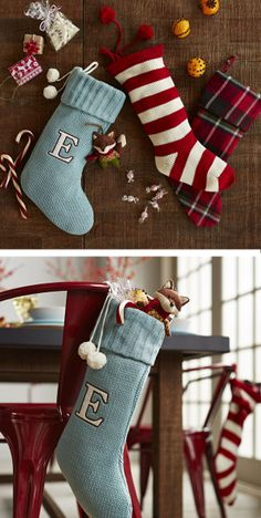 Hang stockings with care on the back of each guest's chair for an extra-special gift.