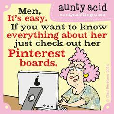 #Auntyacid