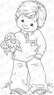niño con flores (2)