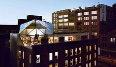 Exterior shot of DVF'S Manhattan penthouse