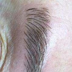 Hairstroke eyebrows with #microblading New Finish Ink
