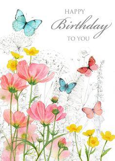 Happy Birthday Greetings Friends, Happy Birthday Pictures, Birthday Blessings, Happy Birthday Messages, Birthday Greeting Cards, Birthday Wishes Flowers, Birthday Wishes Quotes, Art Birthday, Sister Birthday