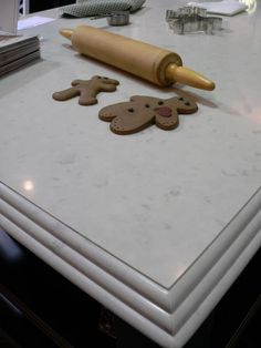 Caesarstone Countertops - Misty Carrera: http://www.caesarstone.com/en/The-Catalog/Pages/4141%20Misty%20Carrara.aspx
