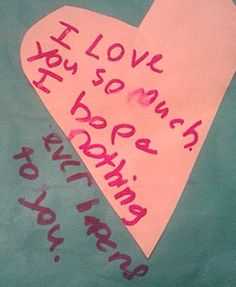 Valentine's Day Notes From Kids