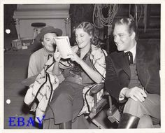 Nelson Eddy Jeanette MacDonald Vintage Photo Girl of The Golden West - ESCANO COLLECTION