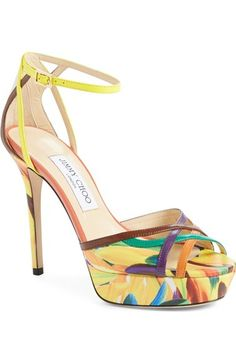 d7e95937e51 Jimmy Choo  Laurita  Ankle Strap Platform Sandal available at  Nordstrom  Sneaker Boots