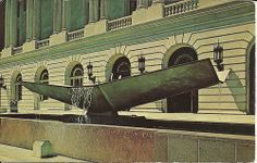 """""""Memorial Fountain, erected in memory of those who served in World War II and…"""