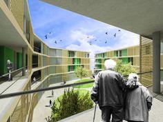 Federico Calabrese · Senior social housing and health center in Palma