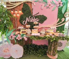 Nikka's Dainty Enchanted Forest Themed Party – Sweet treats - - Butterfly Garden Party, Butterfly Birthday Party, Butterfly Baby Shower, Fairy Birthday Party, Garden Birthday, 7th Birthday, Enchanted Forest Theme Party, Enchanted Garden, Fairy Baby Showers