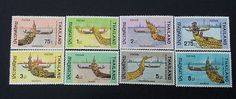 Thailand Beautiful Stamp Never & Light Hinged Set Collection #006