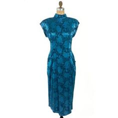 Teal Open Back Party Dress, $64, now featured on Fab.