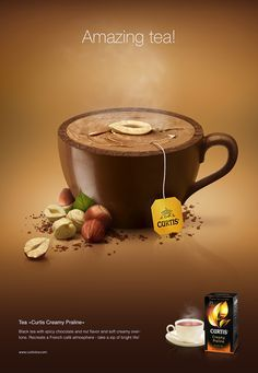 Amazing Tea - for Curtis by Catzwolf Group